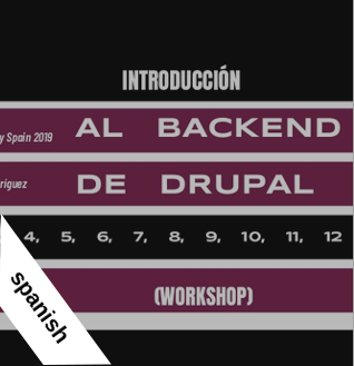 Workshop Drupal Day Spain 2019
